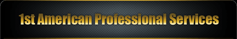 1st American Professional Services